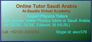 Online Physics Tutor Pakistan