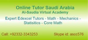 Edexcel AS and A Level Math Tutor