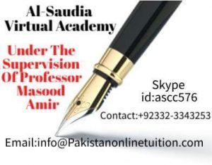 Online Biology Tutor Pakistan