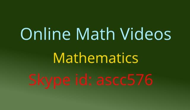 online math videos