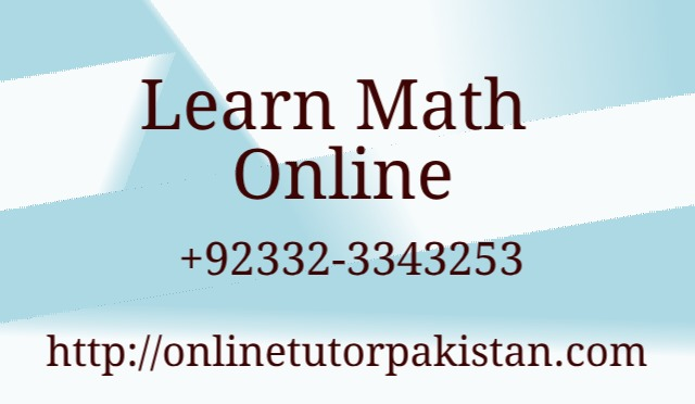 Learn Math Online