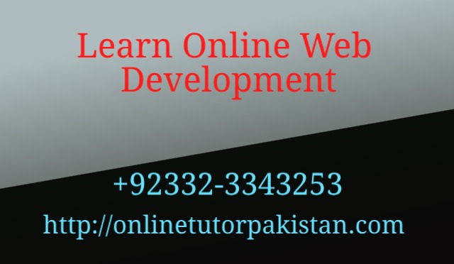 Learn Online Web Development